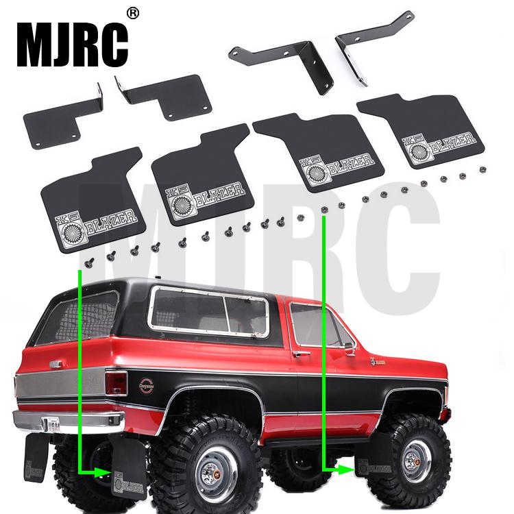 High Quality RC Car Front & Rear Mud Flaps  1/10 RC Crawler Traxxas Trx-4 Chevrolet K5  New RC Car Rubber Fender For TRX4 1:10