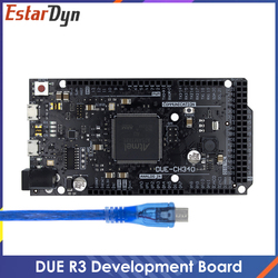 Due R3 Board/ DUE R3-CH340 ATMEGA16U2/CH340G ATSAM3X8E ARM Main Control Board with USB Cable for arduino