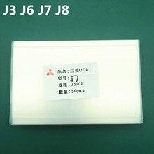 250um OCA tutkal filmi Samsung J1/J3/J4 artı/J6/J6 artı/J8 cep telefon Lcd tamir OCA optik temizle yapıştırıcı