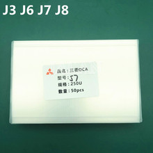 250um Oca Lijm Film Voor Samsung J1/J3/J4 Plus/J6/J6 Plus/J8 Mobiele telefoon Lcd Reparatie Oca Optical Clear Adhesive