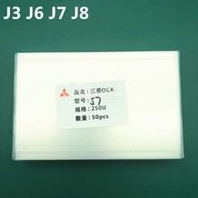 250um ocaグルー膜サムスンJ1/J3/J4プラス/J6/J6プラス/J8携帯電話液晶修理oca光学的に透明な接着剤