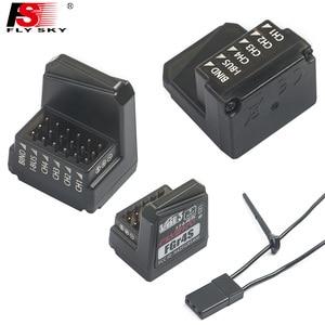 Image 5 - Flysky fs nb4 2.4g 4ch nobre transmissor de rádio com fgr4 & fgr4s receptor hvga 3.5 Polegada tft cor para 1/10 tanques de barco carro