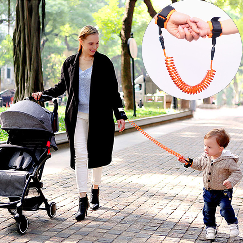 Baby Anti Lost Wrist Link Toddler Kids Leash Safety Harness Child Strap Rope Outdoor Walking Hand Belt Band Anti-lost Wristband