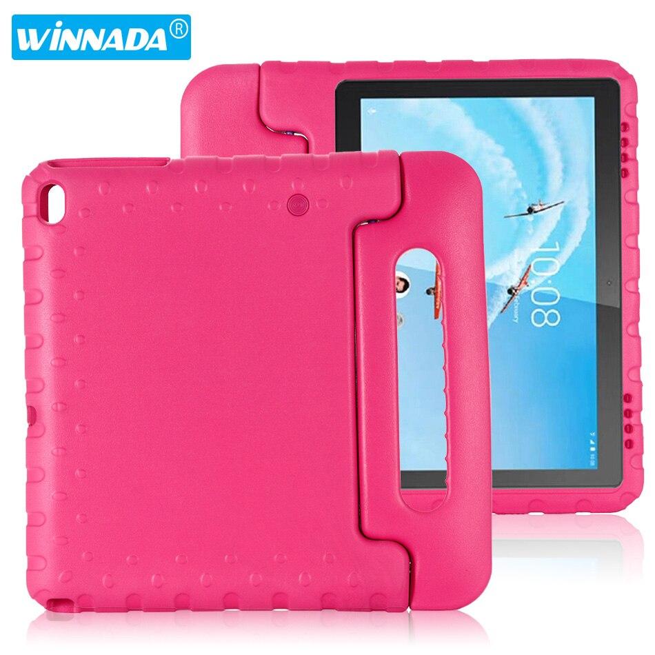 Case For Lenovo Tab E10 TB-X104F Hand-held Full Body Children Kids EVA Handle Stand Tablet Cover For Lenovo Tab E10 10.1 Inch