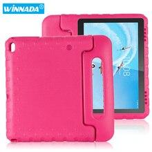 Funda de cuerpo completo para tableta Lenovo Tab E10 TB X104F, con soporte de mango de EVA para niños y tablets Lenovo Tab E10 de 10,1 pulgadas