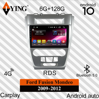 eunavi car radio multimedia player android 10 0 2 din gps autoradio for ford mondeo s max focus c max galaxy fiesta form fusion IYING For Ford Fusion Mondeo 2009-2012 Car Radio Multimedia Video Player Navigation GPS DSP Carplay Android 10 No 2din 2 din dvd