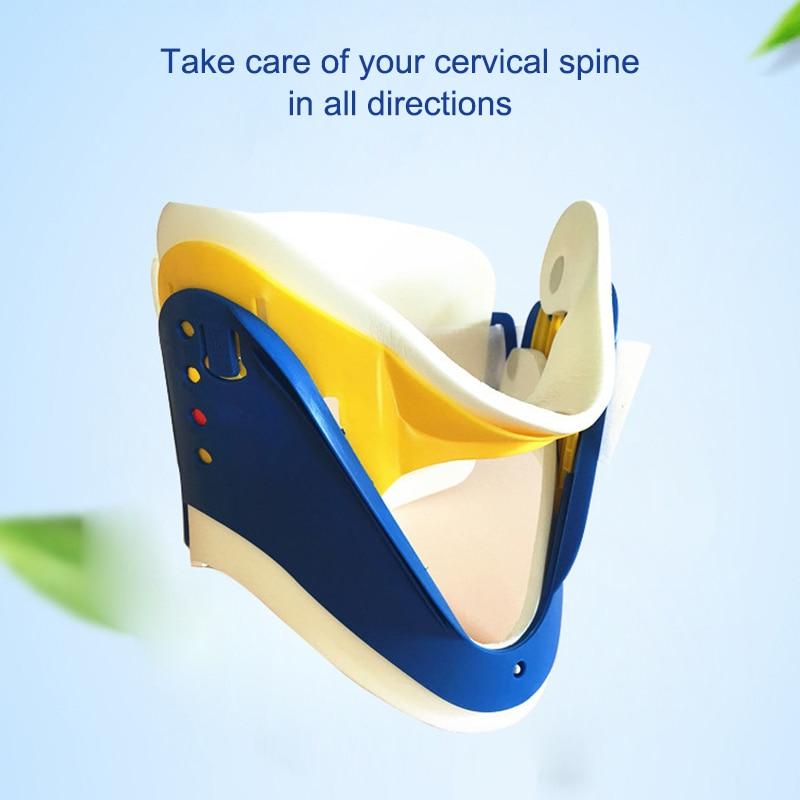 Neck Brace Adjustable Breathable Neck Pain Relief Medical Cervical Collar Neck Tractor Orthosis Braces Support Immobilizer Safe