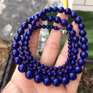 Image 5 - 天然のペンダントラウンドビーズ女性男性パーティー新ギフトレイキ石の水晶のネックレス 4 10 ミリメートル AAAAA