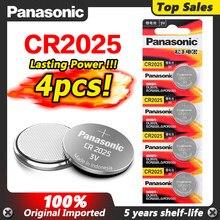 PANASONIC 4pc original cr2025 ECR2025 BR2025 DL2025 KCR2025 LM2025 3v pile bouton batterie de voiture jouet batterie au lithium