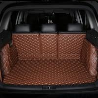 Alle Umgeben Durable Spezielle Auto Stamm Matten für Maserati Quattroporte Ghibli Meisten Modelle 3D Kein Geruch Wasserdicht Teppiche Levante auf