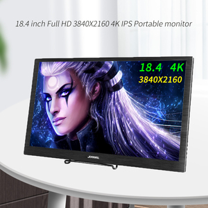 18.4 inch 4K portable monitor 3840X2160 IPS LCD Monitor PC Type-C HDMI Gaming monitor for Raspberry Pi PS3 PS4 Xbox