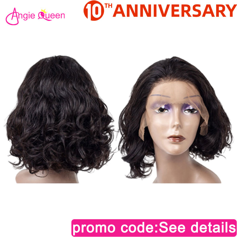 Body Wave Lace Front Human Hair Wig 150% Malaysian Remy Hair Closure Wig 100% Human Hair Remy Hair Bob Wig 8 10 12 14 16 18 20