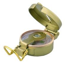 Аутентичный компас, металлический ремешок, линейка, набор, увеличительный стеклянный талреп, принадлежности для кемпинга, компас, призматический Прицельный, военный, Lensatic UK