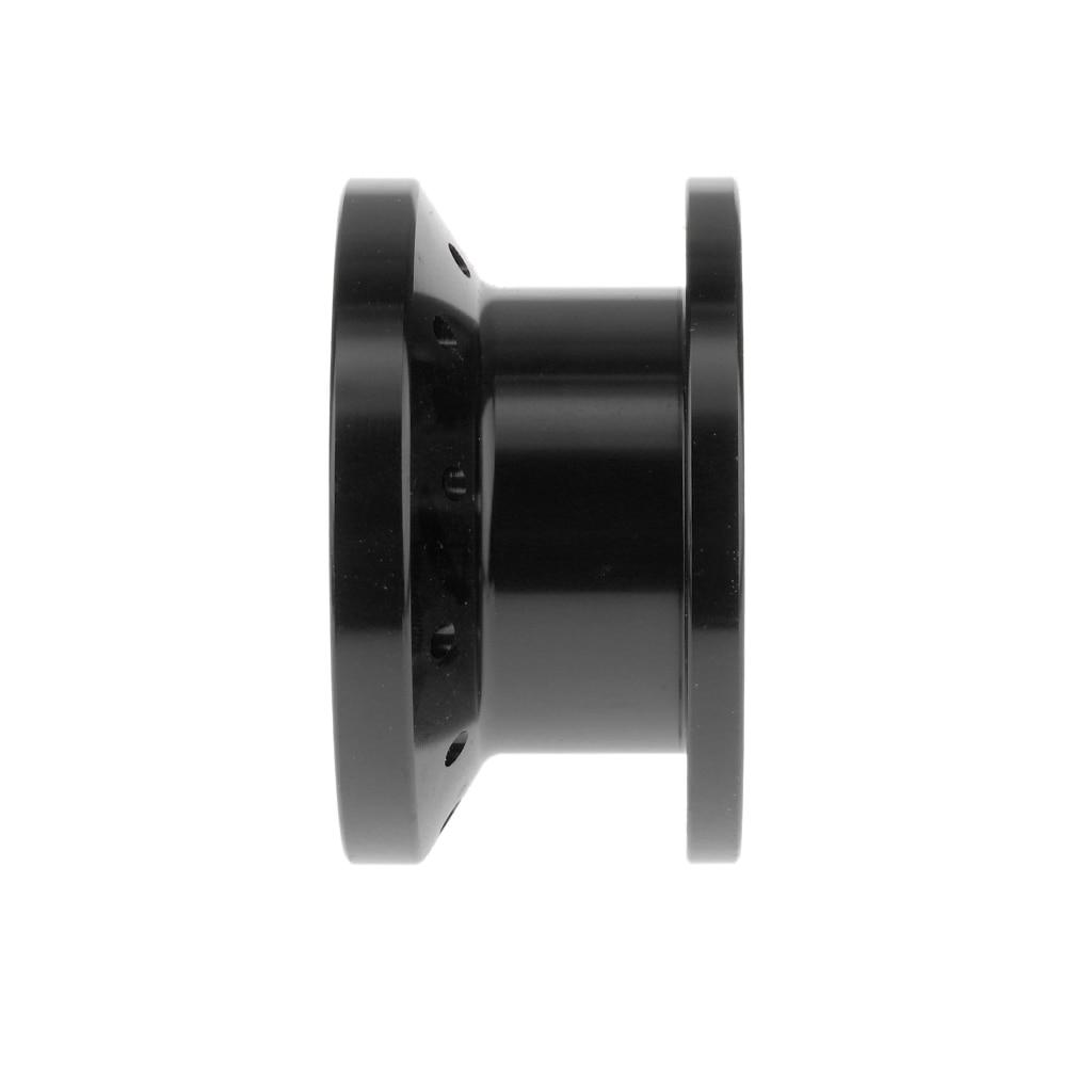 1 Set 50mm Car Steering Wheel Heighten Device Steering Wheel Extension Spacer Black For Momo OMP Simoni Racing Etc