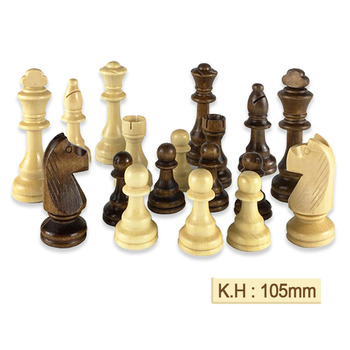 32 ou 34 pièces d'échecs en bois jeu d'échecs roi hauteur 105mm jeu d'échecs de voyage de haute qualité grand échiquier ou planche ou cadeau IA88 1