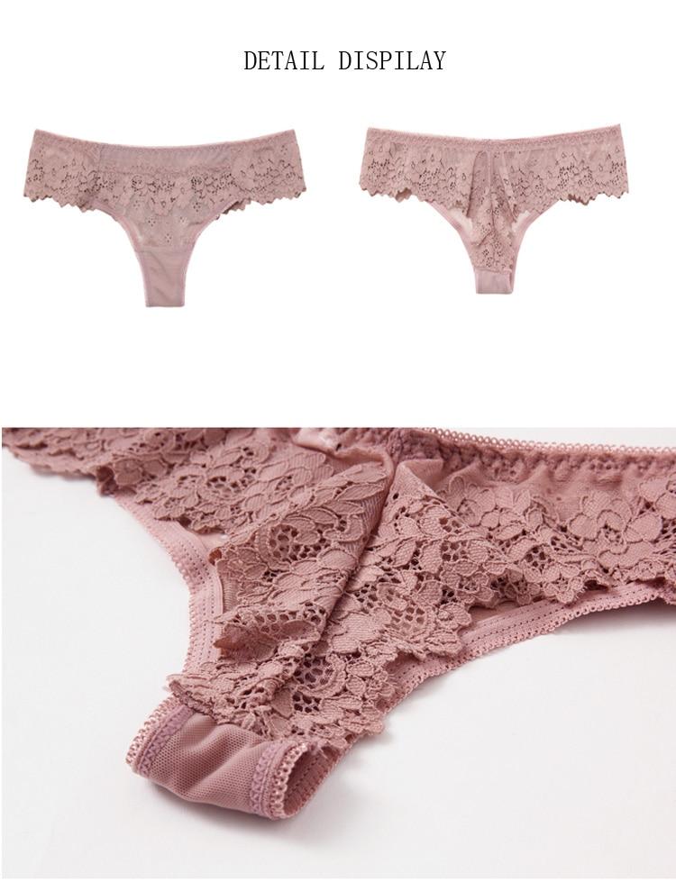 He4fb5b8224ff490cbe2a763223f2a947h ALLMIX M-XL Sexy Women's Lace Panties Underwear Seamless Briefs Low Waist Female Sport Panty Comfort Underpants Lady Lingerie