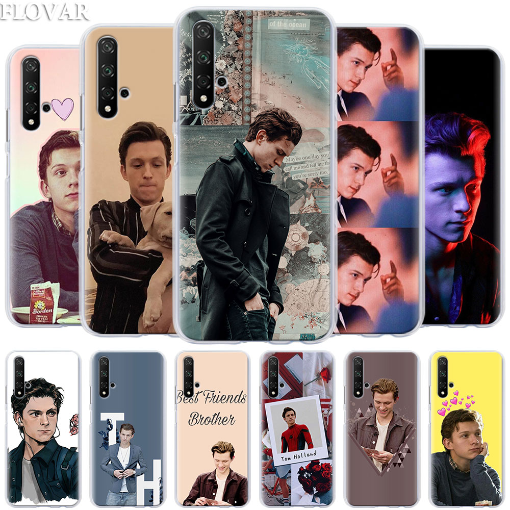 Phone Case coque for Honor 20 Pro 9 10 Lite 8X 8A 8C 8S 9X Pro Y7 Y9 2019 V20 Cover Tom Holland Hard PC Cases