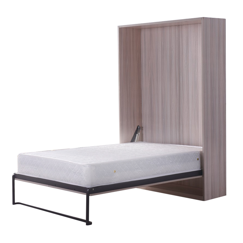 Folding Bed Receiving Bed Side Turn Plate Invisible Bed Hardware Fittings WalMulti-function Bed-saving Space Bed Wardrobe Bed