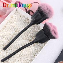 Wild Black Rose Powder Brush Wet n Elegant Soft Face Foundation Blush & Loose Cosmetic Makeup Tool