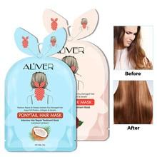 Hair-Mask Hair-Treatment-Care Bifurcation Deep-Nourishment HOT Tail 15ml Buttercup