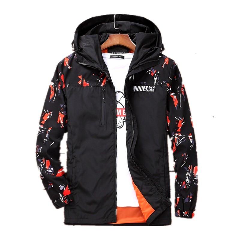 new arrival men fashion super large coat men's Print Windbreak Camouflage Jacket casual plus size 4XL 5XL 6XL 7XL 8XL 9XL 10XL