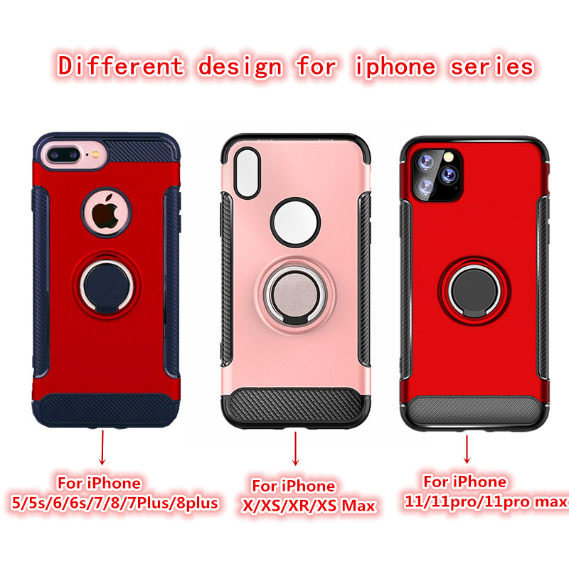 He4fbe60f825f41b2ba3ad9c7eae5aa63O LSDI for iphone 11 pro max Case for iphone 6 6s 7 8 plus 5 5s se  Armor TPU+PC logo hole design Cover for x xr xs max
