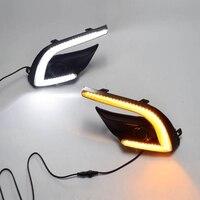 Car Daytime Running Lights Fog Lamp Cover Headlight 12V Daylight for Mazda 3 Mazda3 Axela 2017 2018