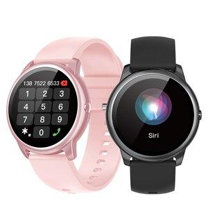 Image 1 - Hopofit R7 חכם שעון נשים עמיד למים כושר 2021 Bluetooth שיחת גברים Smartwatch שעון Mi Xiaomi אנדרואיד Huawei
