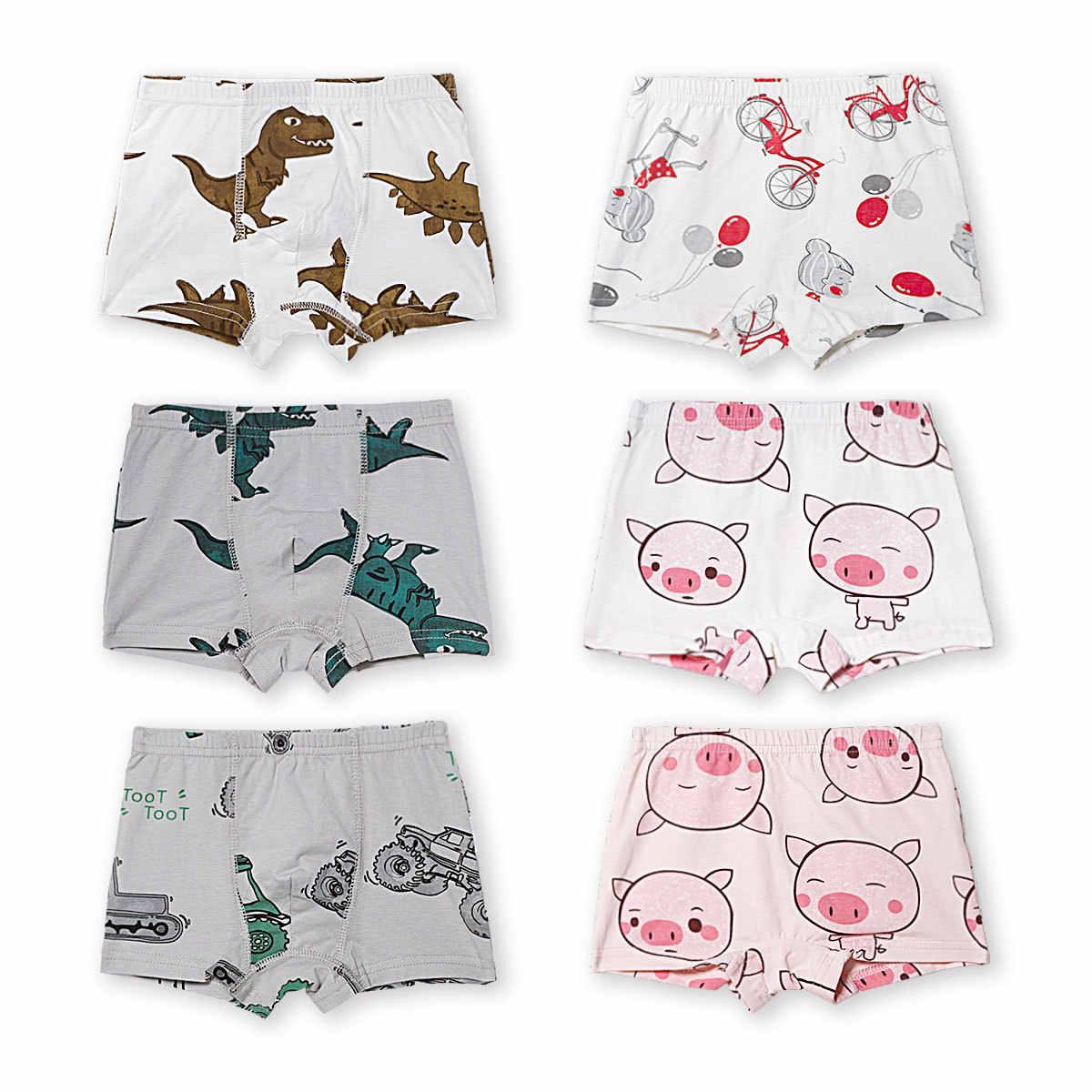 3 упаковки в форме штанов Новое Стильное детское нижнее белье трусы боксеры из