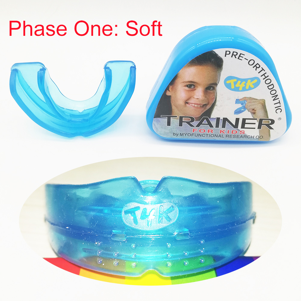 1pc T4K Children Dental Tooth Orthodontic Appliance Trainer Kids Alignment Braces Mouthpieces For Teeth Straight Teeth Whitening