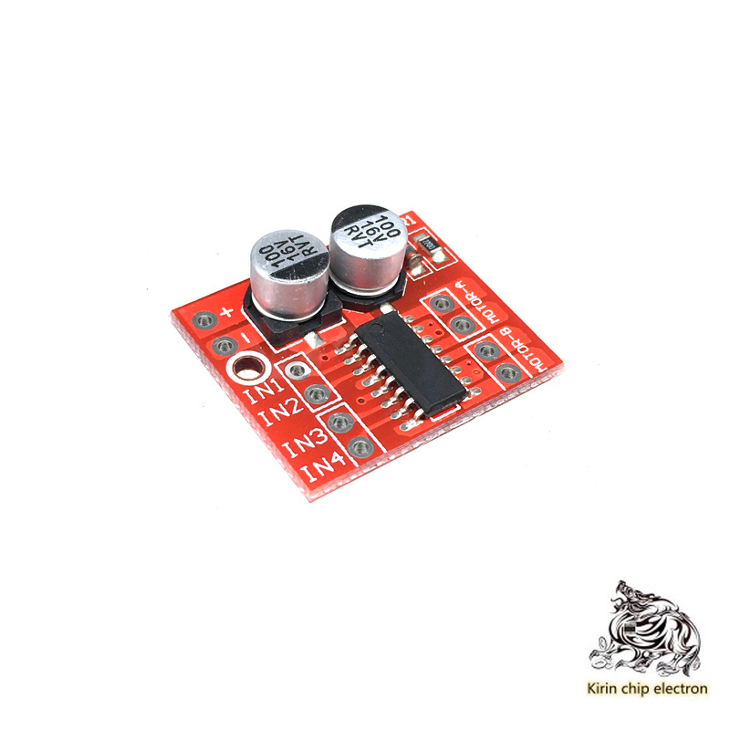 10pcs/lot 2-way DC Motor Drive Module Positive Reversal PWM Speed-controlled Dual H Bridge Step Motor Mini Super L298N