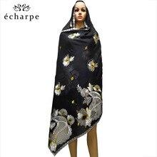 새로운 아프리카 스카프 이슬람 Hijab 저지 스카프 부드러운 Headscarf foulard femme musulman 이슬람 의류 아랍 랩 스카프