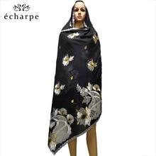 Neue Afrikanische Schal Moslemisches Hijab Jersey Schal Weiche Kopftuch foulard femme musulman Islam Kleidung Arabischen Wrap Kopf Schals