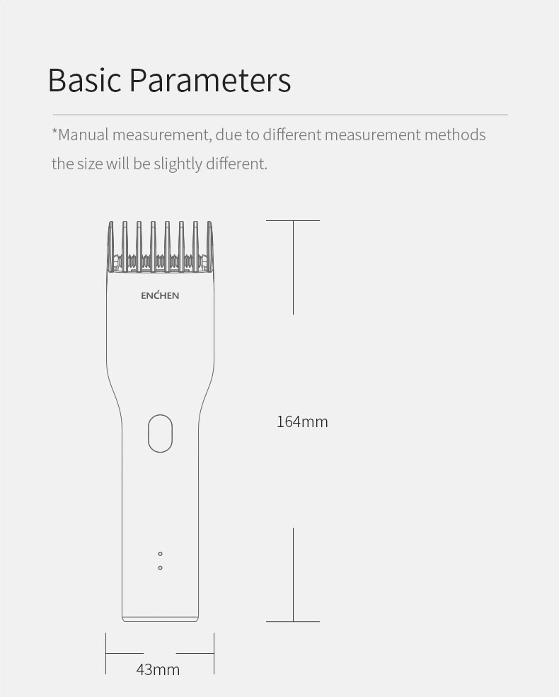 Basic Parameters  Manual measurement, due to different measurement methods, the size will be slightly different.