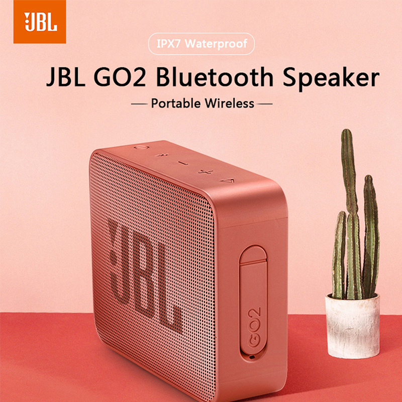 Dropshipping GO 2 Outdoor Portable Wireless Bluetooth Speaker Waterproof Wireless Speaker Bluetooth Stereo Speaker With Mic|Portable Speakers|   - AliExpress