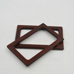 Neue Stil Hohe Stil Holz Tasche Rahmen Großhandel Tasche Zubehör Holz Geldbeutel Griff Nizza Holz Tasche Griff