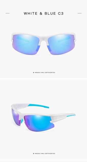 Очки солнцезащитные поляризационные для мужчин и женщин зеркальные