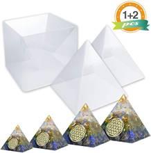Формы в виде пирамиды большая силиконовая форма для самостоятельного