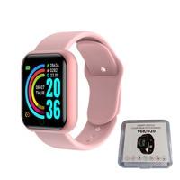 Hombres reloj inteligente Smartwatch mujeres Monitor de Fitness electrónicos pulsera de corazón de presión arterial reloj inteligente para Ios Android