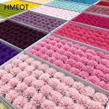 5 Layers 29 colors Carnation Soap Flower Heads Eternal Flowers Bouquet Gift Box Handmade DIY Material Flowers Mother's Day Gifts