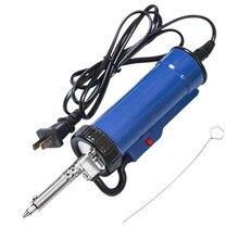 1PC Solder Sucker 30W 220V 50Hz Elektrische Vakuum Entlötpumpe Eisen Gun Löten Reparatur Werkzeug mit düse und Bohrer Stange