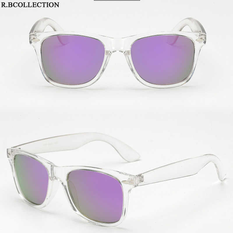 2019 óculos de sol dos homens polarizados clássico unisex estilo retro rebite tons marca designer transparente quadro óculos de sol uv400