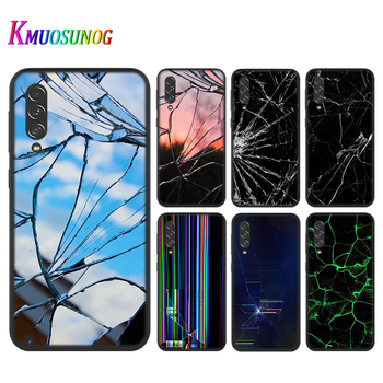 Craked screen for Samsung Galaxy A90 5G A80 A70S A70 A60 A50 A50S A40 A30S A20S A20E A20 A2 Core A10 Phone Case image