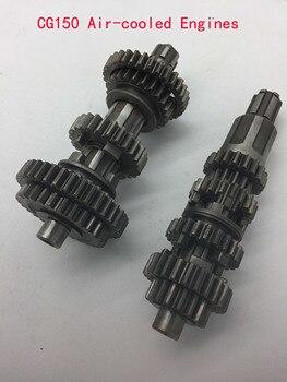 A479 Dirt bicicleta transmisión eje principal engranajes de contrapeso para CG150 CG200 engranaje refrigerado por aire motores principal caja de engranajes de contrapeso