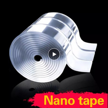 Magic-Tape Nano-Glue 1/2/3/5m Pu-Gel Strong-Adhesion Unmarked Multifunctional Double-Sided