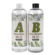 1:1 Endurecedor Epóxi AB Cola Para DIY Fabricação de Jóias de Resina Resina Epóxi de Alta Adesiva Cola UV Molde Acessórios