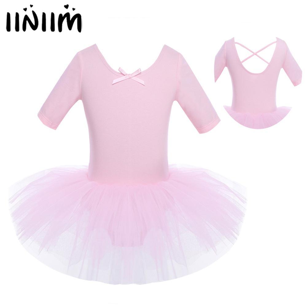 iiniim Girls Leotard Dress Ballet//Dance//Gymnastic Tutu Skirt Dancewear Costume