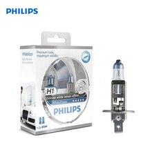 PHILIPS H1 12 V-55 W (P14, 5S) (absolutely white light) white Vision + W5W 12 V-5 W (W2, 1×9, 5D) WHV (2 pcs)