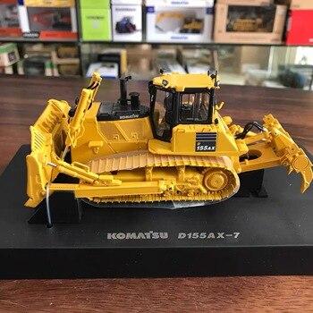 цена на 1/50 Komatsu D155AX-8  Alloy Simulation Bulldozer Model Metal Engineering vehicle Car Toy