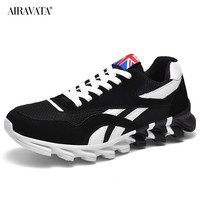 Black-Couples Sneakers Casual Breathable Comfortable Running Sport Shoes